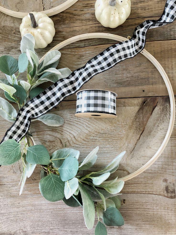 Fall DIY Series – Week 1 Fall Hoop Wreath