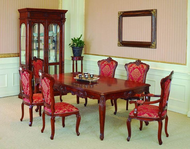 1000 ideas about antique dining room sets on pinterest antique dining rooms dining room sets - Lavish antique dining room furniture emphasizing classic elegance and luxury ...