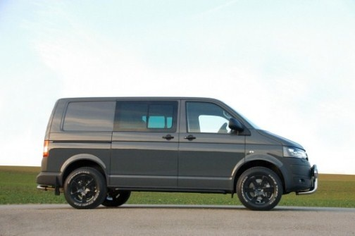 VW Transporter T5 modification by Delta4x4