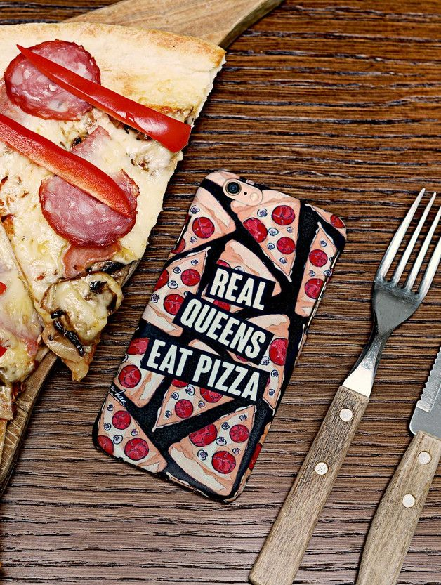 Phone Case Real Queens Eat Pizza - ZO-HAN - Obudowy do telefonów