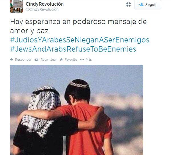 Campaña #JewsandArabsRefusetobeEnemies | La preciosa campaña en Internet que rechaza el odio entre árabes y judíos - Yahoo Noticias España