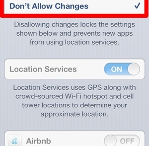 iphone tracking how to turn off