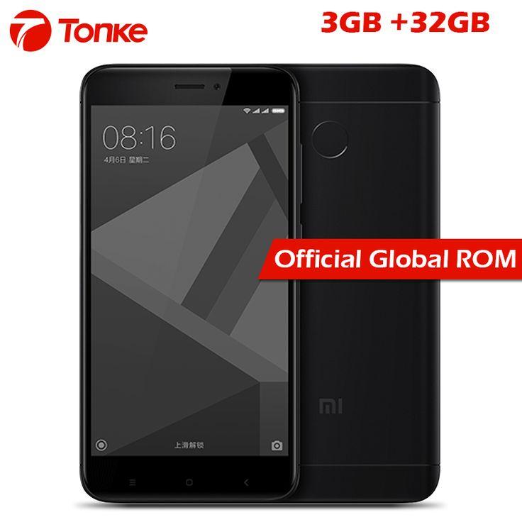 "Cheap 3gb ram, Buy Quality 3gb ram 32gb rom directly from China octa core Suppliers: Xiaomi Redmi 4X Smartphone Redmi 4X 3GB RAM 32GB ROM 5.0"" HD Screen 435 Octa Core"