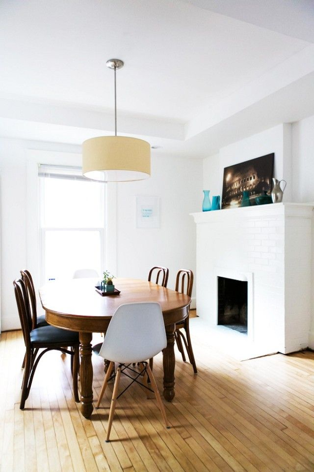 Before+and+After:+A+Simply+Chic+Traditional+Kitchen+Renovation+via+@domainehome
