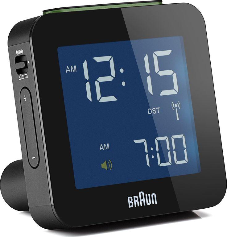 Amazon.com: Braun BNC008BK LCD Quartz Alarm Clock: Watches