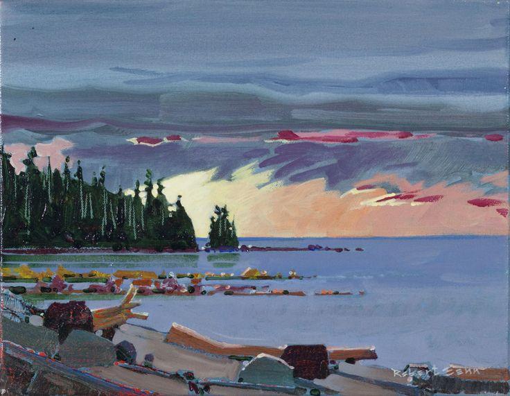 Robert Genn - Langara Lake Light