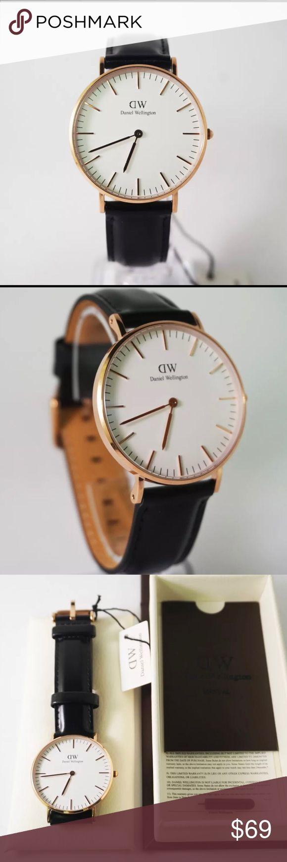 Daniel Wellington Ladies Watch Black DW0508 Brand New. Black and Gold Daniel Wellington Accessories Watches