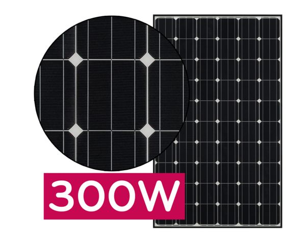 LG Mono X Neon solar panels
