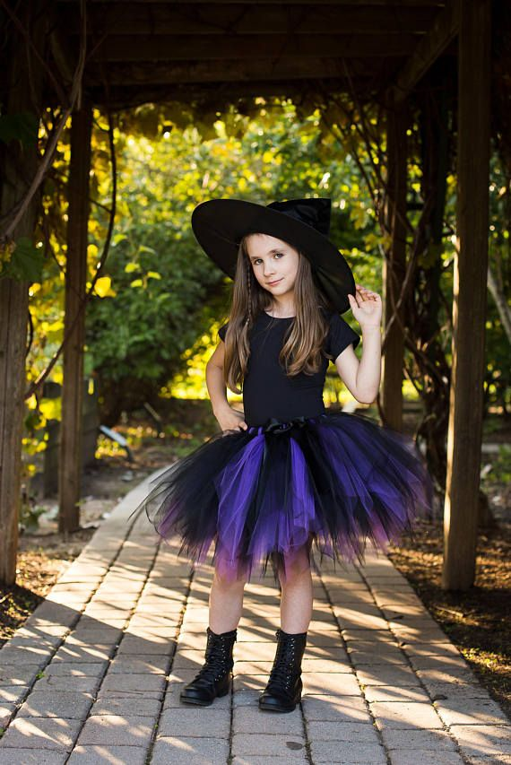 Witch Tutu Witch Costume Girls Witch Costume Toddler