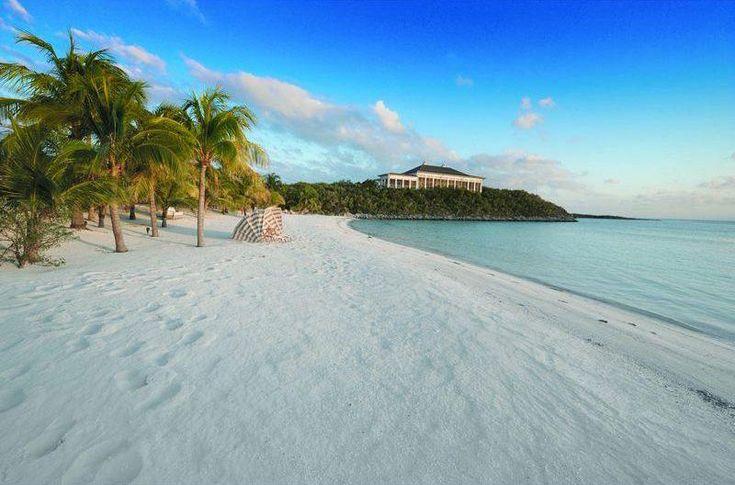 Bernard Arnault island in Exuma Cays, Bahamas