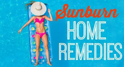 In case you got too much sun recently: five DIY sunburn home remedies that should help from our friends at FabFitFun!