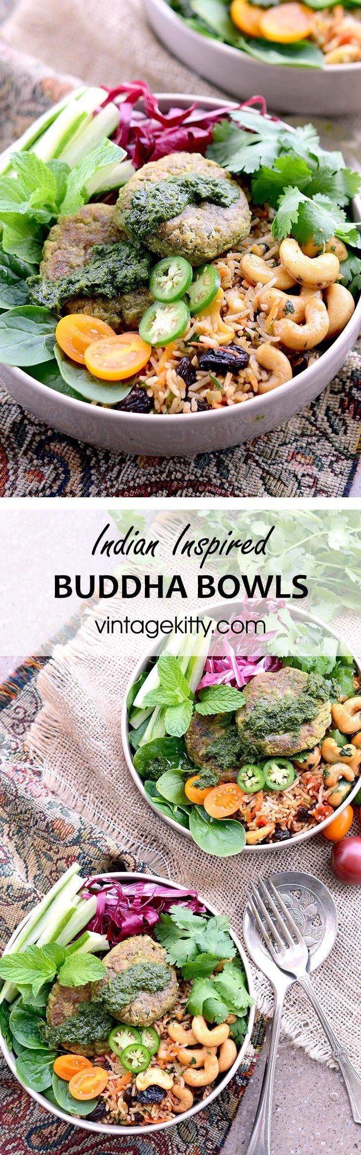 Indian Inspired Buddha Bowl Recipe Indian food recipes