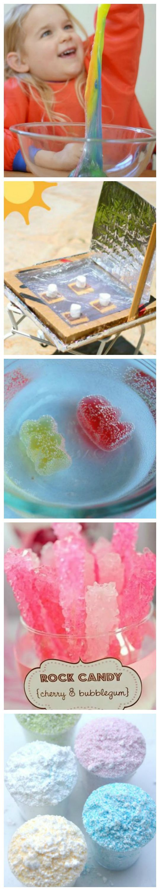 18 Cool Science Experiments Your Children Can Eat!