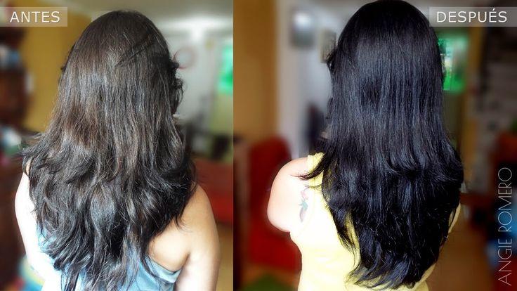 Como tinturar el cabello de negro con pastillas sin amoniaco y sin peróx...