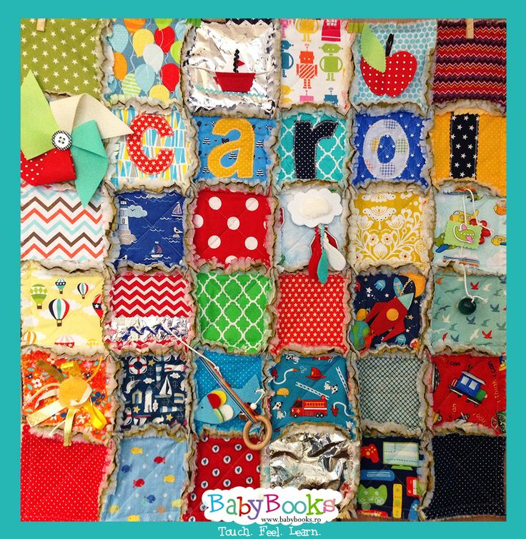 Carol's sensory blanket.