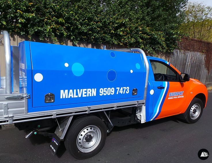 Swimart Malvern, Mazda BT 50, Ute Wrap, Vehicle Wrap, AutoSkin