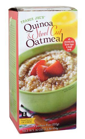 Quinoa & Steel Cut Oatmeal