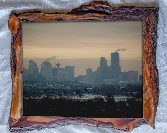 16x20 Handcrafted Wood Picture Frame Canada by SaphariRusticFrames