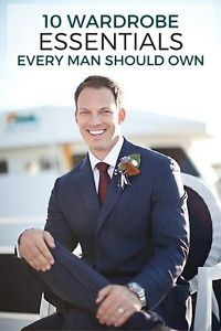 10 Wardrobe Essentials Every Man Should Own   eBay