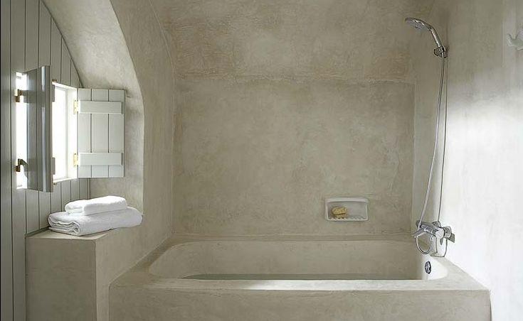 ★: Houses, Tubs, Santorini Greece, Clean, Design Interiors, White Bathroom, Bathroom, Villas Fabrica, Hotels