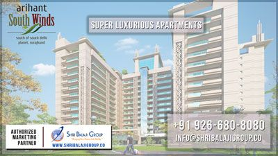 If you are Looking for Highly Luxury Apartments ARIHANT SOUTH WINDS is the Best option for You.    Website: http://www.shribalajigroup.co/ Phone : +91 926-680-8080 (30 lines) Email : info@shribalajigroup.co