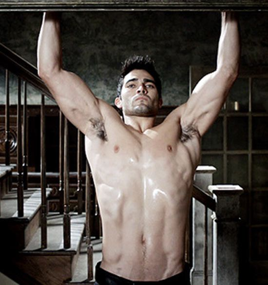 started to watch Teen Wolf mainly because of Derek played by Taylor Hoechlin
