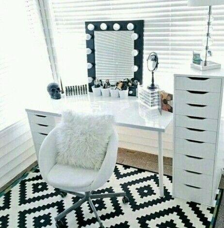 Ikea Schminktisch, Schlafzimmer, Rund Ums Haus, Schrank Eitelkeit,  Schminktisch, Frisiertische, Vanity Fair, Mädchen Schlafzimmer, Schlafzimmer  Ideen