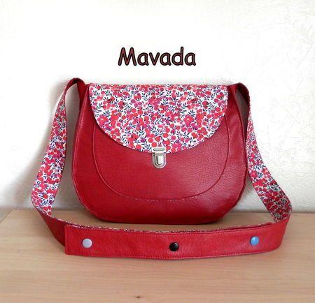 Sac rouge - La petite cabane de Mavada