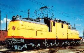 Milwaukee Road Electric Locomotive.