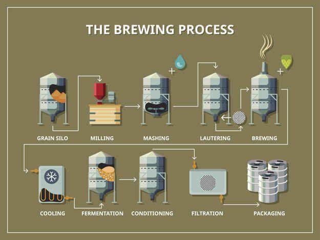 Beer Making Process