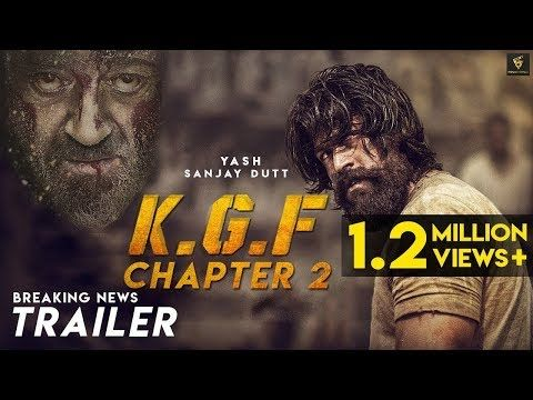 KGF CHAPTER 2 official Trailer  Rocking star YASH KUMAR