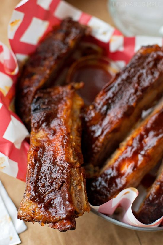 Easy Oven Baked BBQ Ribs