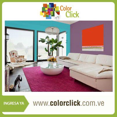 Este es uno de los miles de ambientes que podrías obtener en Color Click