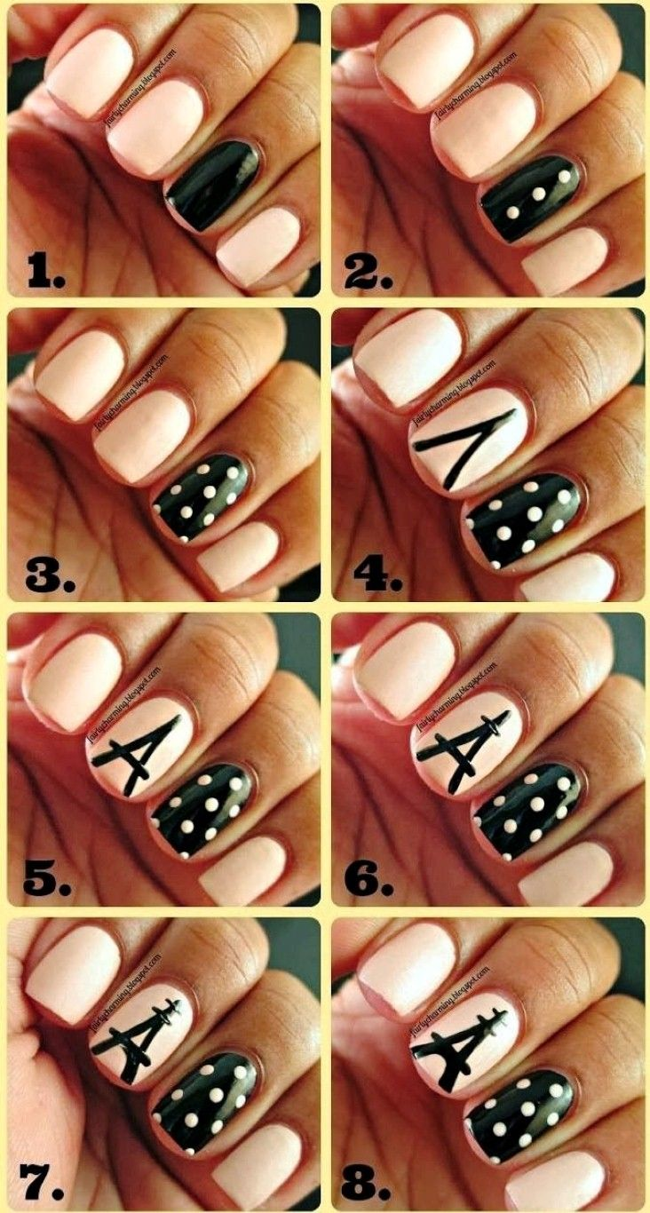 Cute Easy Nail Tutorials