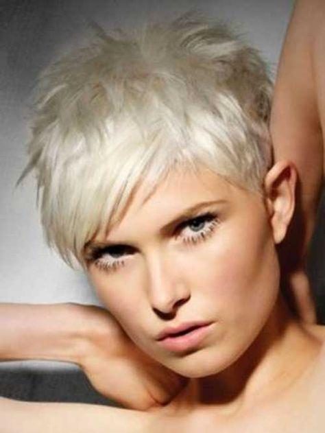 6.Tousled Pixie Cuts