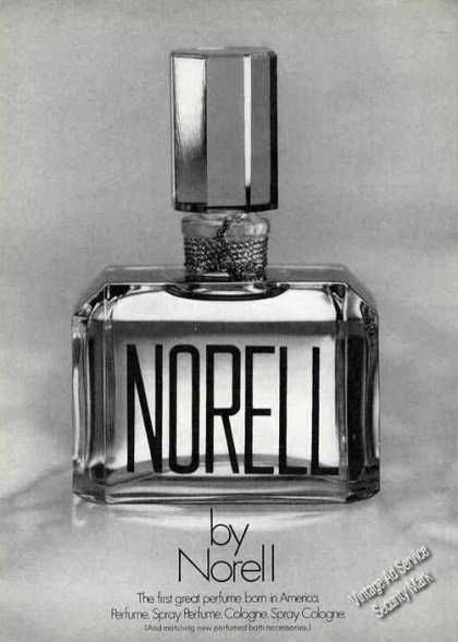 Norell the First Great Perfume Born In America (1970)