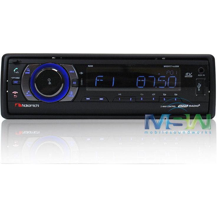 New Nakamichi NA88 USB SD Digital Media Car Stereo Receiver w Bluetooth NA 88 | eBay