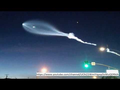 "00Fast News, Latest News, Breaking News, Today News, Live News. Please Subscribe! 'UFO intrusion' in California was an atomic outsider sent by North Korea, claims Elon Musk Sensational film that lit up the night sky with an iridescent blue trail could be an ""atomic outsider..."
