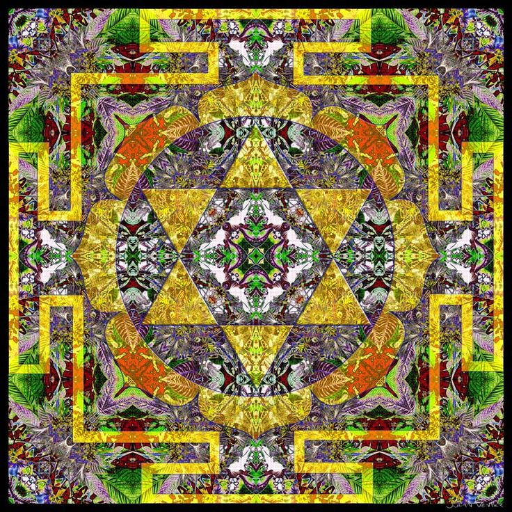 """Self-esteem Mandala. 30 cm x 30 cm. Metal print.  """"I am worthy, I love and respect myself."""" Look at the center of the mandala for a few minutes every day while repeating this affirmation, in order to restore your innate positivity and confidence. http://julianventer.com/self-esteem.html"""
