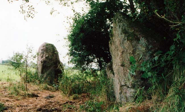 """Carmarthen is believed to be the birthplace of Merlin. The name Carmathen is the anglicized form of the Welsh name for the town, 'Caerfyrddin', which means Merlin's fortress (""""Caer""""-Fortress, """"Myrddin""""-Merlin).  these stones known as """"Merlin's Quoits"""" date back to Neolithic times and later became linked to the legendary Merlin."""