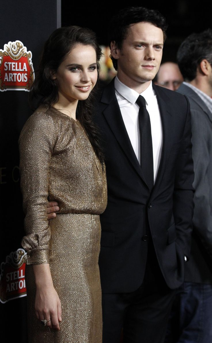 Anton Yelchin and Felicity Jones