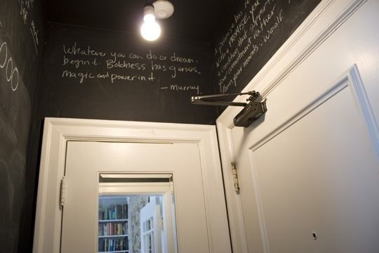 chalkboard room