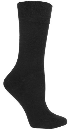 Diabetic Socks | Womens Black Diabetic Socks « ShoeAdd.com – More Shoes For You Every Day