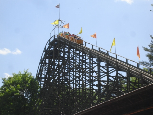 Now At Knoble S In Pennsylvania I Rode The Rocket In It S