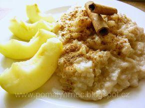 Pomalý hrnec : Rýžová kaše s jablky v pomalém hrnci