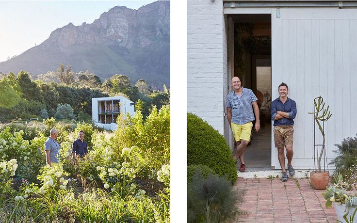 The owners of well-known floristry studio Okasie open the doors to their spectacular haven in Pniel. Expect blooms, greenery and vintage collectables.   January 24, 2017   Photo Greg Cox     Stylist Chrizanda Botha & Tiaan Nagel