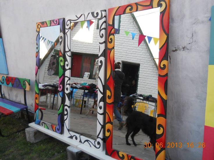 25 best images about espejos decorados on pinterest shoe for Espejo 70 mendoza