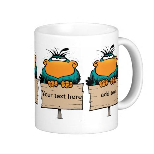 """A coffee mug that makes a statement! The Bludgerigar is stamped all over this mug so you can create a message such as, 'Need Caffeine now!!"""" $23.95 from the Swamp Cartoons Zazzle Store. http://www.zazzle.com.au/morning_coffee_bludgerigar_coffee_mug-168197969913764317?rf=238100710189761270"""