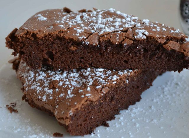 Fondant Au Chocolat Sans Beurre Ww Plat Et Recette Recette Fondant Au Chocolat Gateau Chocolat Leger Recette Fondant