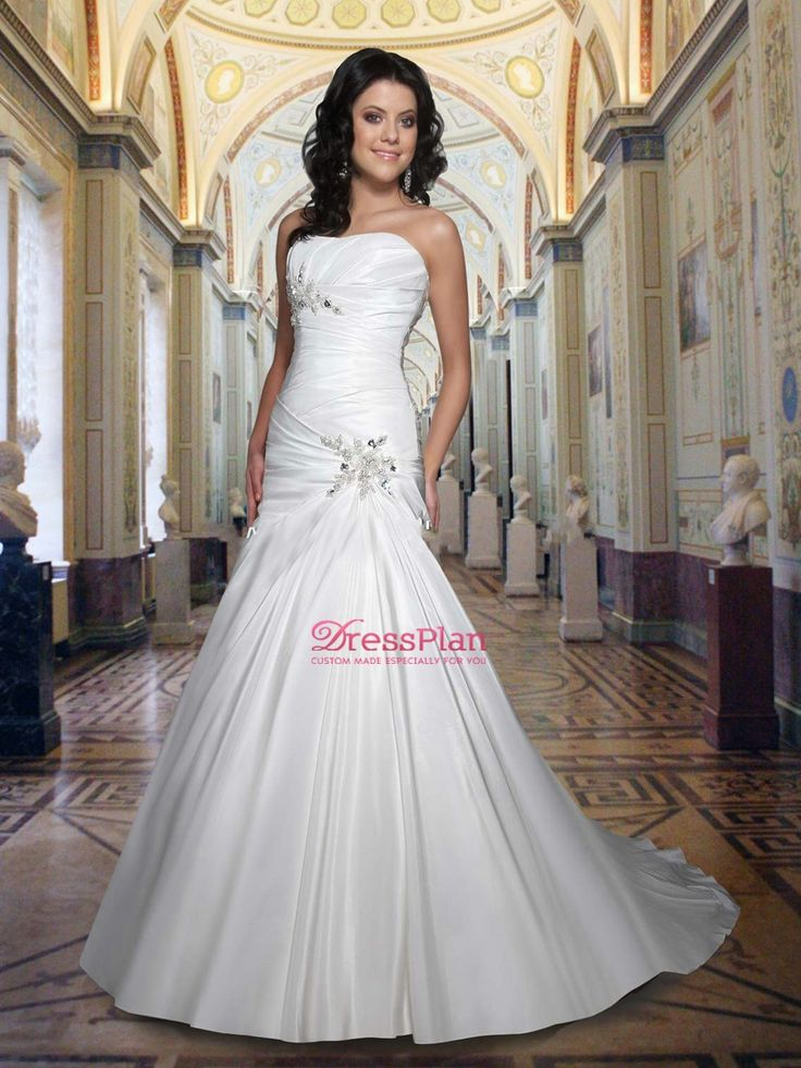 Sweetheart neckline drop waist wedding dresses for Sweetheart neckline drop waist wedding dress